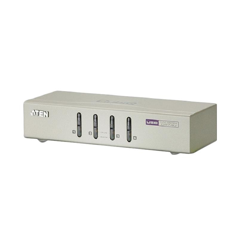 Aten KVM Switch Desktop 4-Port USB (CS74U)