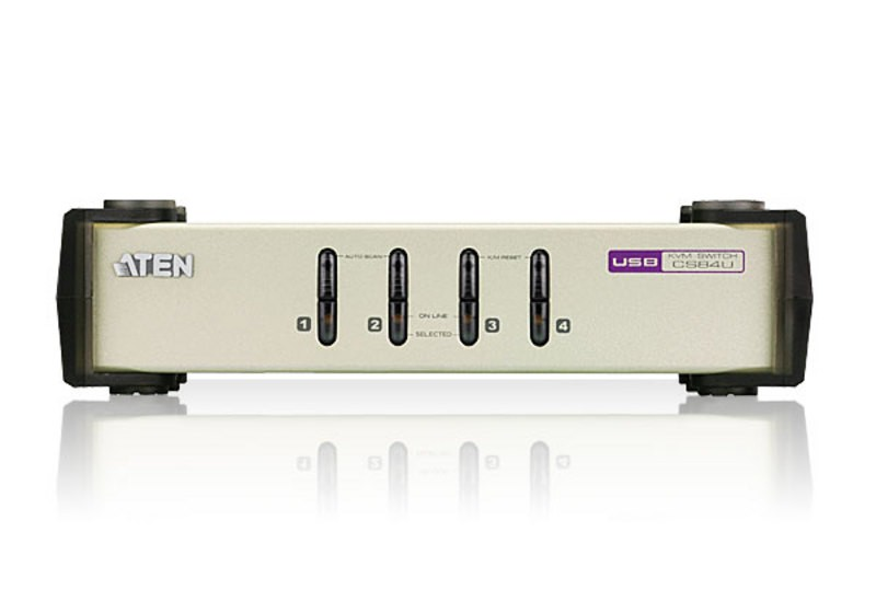 Aten KVM Switch 4-Port PS/2-USB (CS84U)