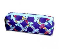 Pencil Case Purple Donuts