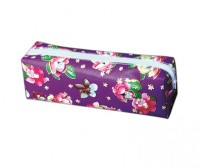 Pencil Case Purple Flower