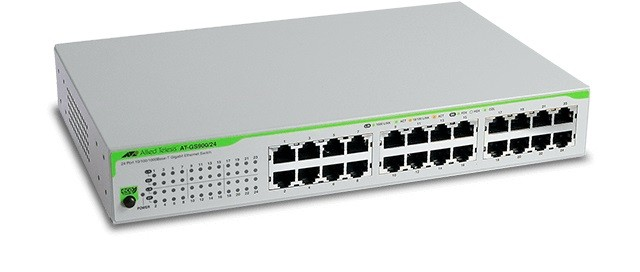 Allies Telesis Unmanaged Switches AT-GS910/24