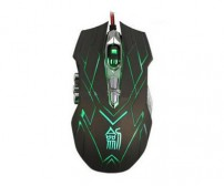 Ghost Shark Aokdis Gaming Mouse Second Generation 4000 DPI - JS-X9 - Brown/Black