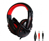 Kinbas HiFi Gaming Headset dengan Mic - VP-X9 - Black