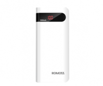Romoss Sense 6P Power Bank 20000mAh dengan LCD Display 5V 2.1A (OEM) - White