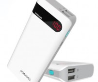 Romoss Sense 4P Power Bank 10400mAh with LCD Display (OEM) - White