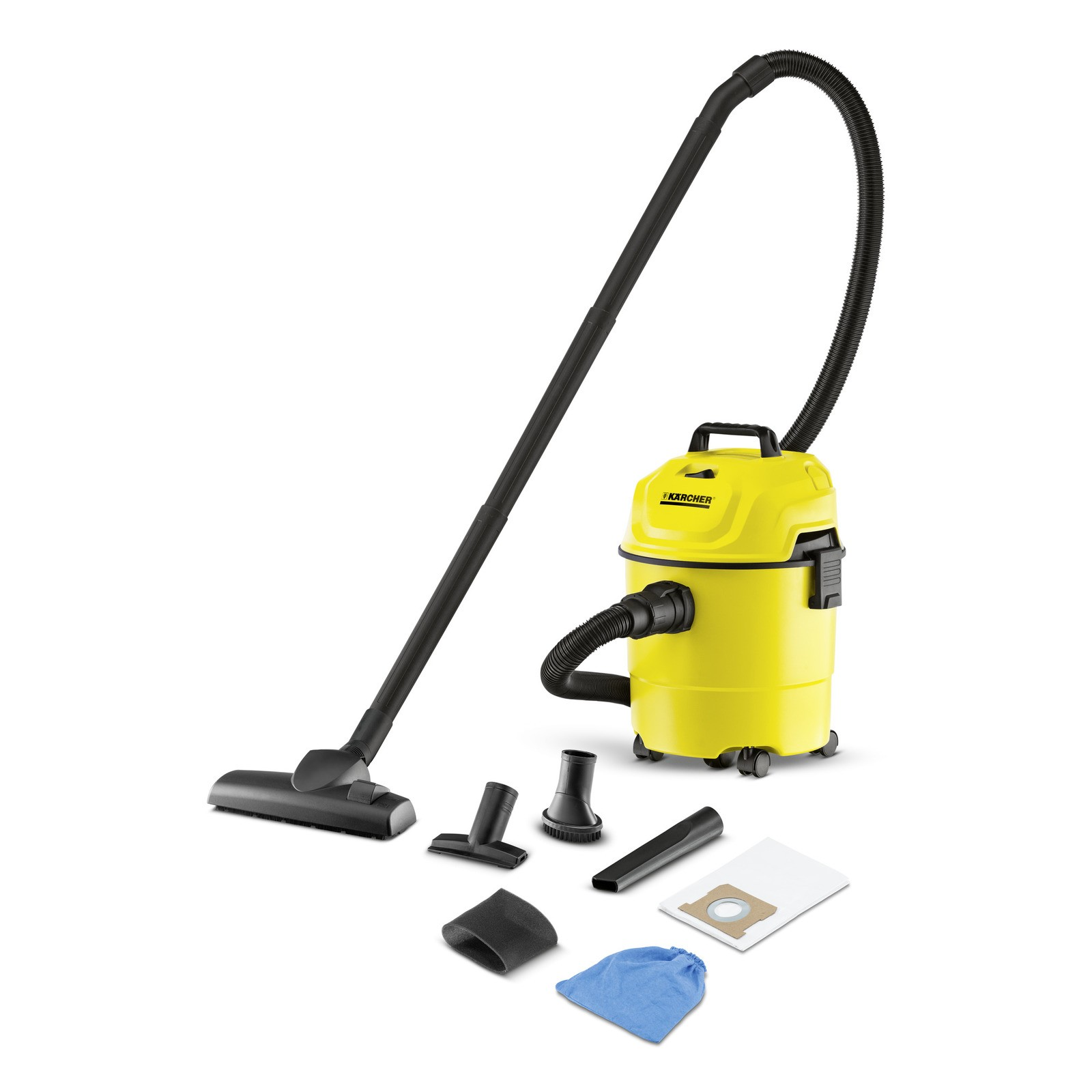 Karcher WET & DRY VACUUM CLEANERS - WD 1 HOME (1.098-310.0)