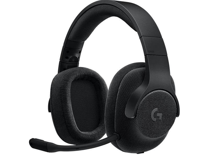 Gaming Headset Logitech G 433 7.1 Surround - Black
