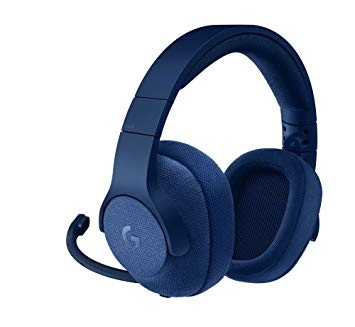 Gaming Headset Logitech G 433 7.1 Surround - Blue