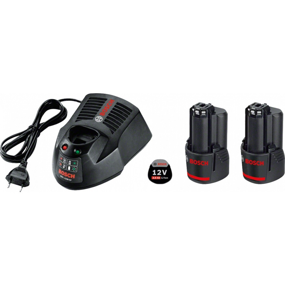 Bosch Starter Kit 2X12V Charger + Battery