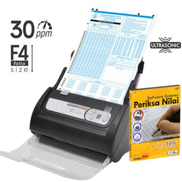 Paket Scanner SmartOffice PS3060U + Software Periksa Nilai