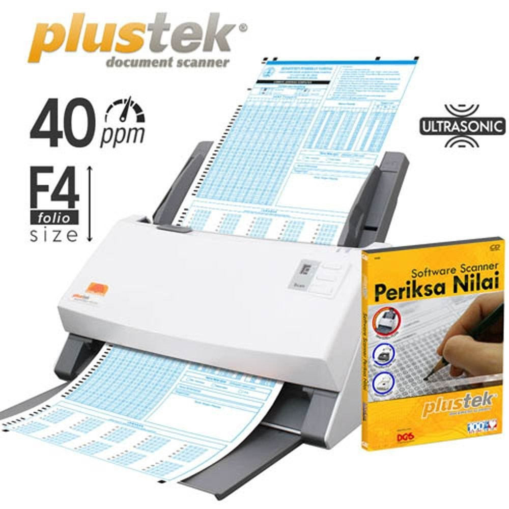 Paket Scanner SmartOffice PS406U Plus + Software Periksa Nilai