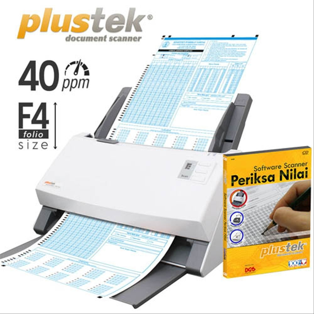 Paket Scanner SmartOffice PS3150U + Software Periksa Nilai
