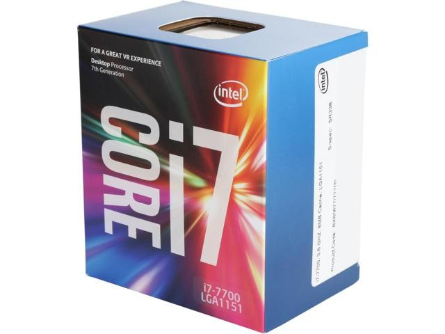 Intel® Core™ i7-6700K Processor - 8M Cache, up to 4.20 GHz
