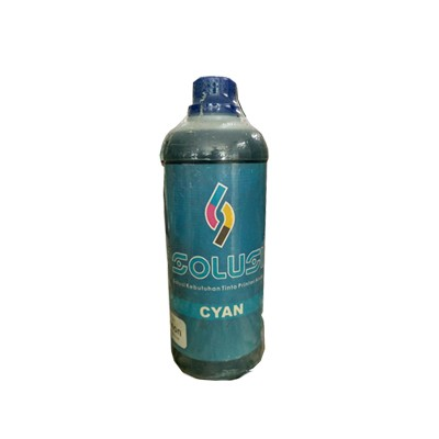 Tinta Printer Refill SOLUSI Cyan for Brother - 1000ml