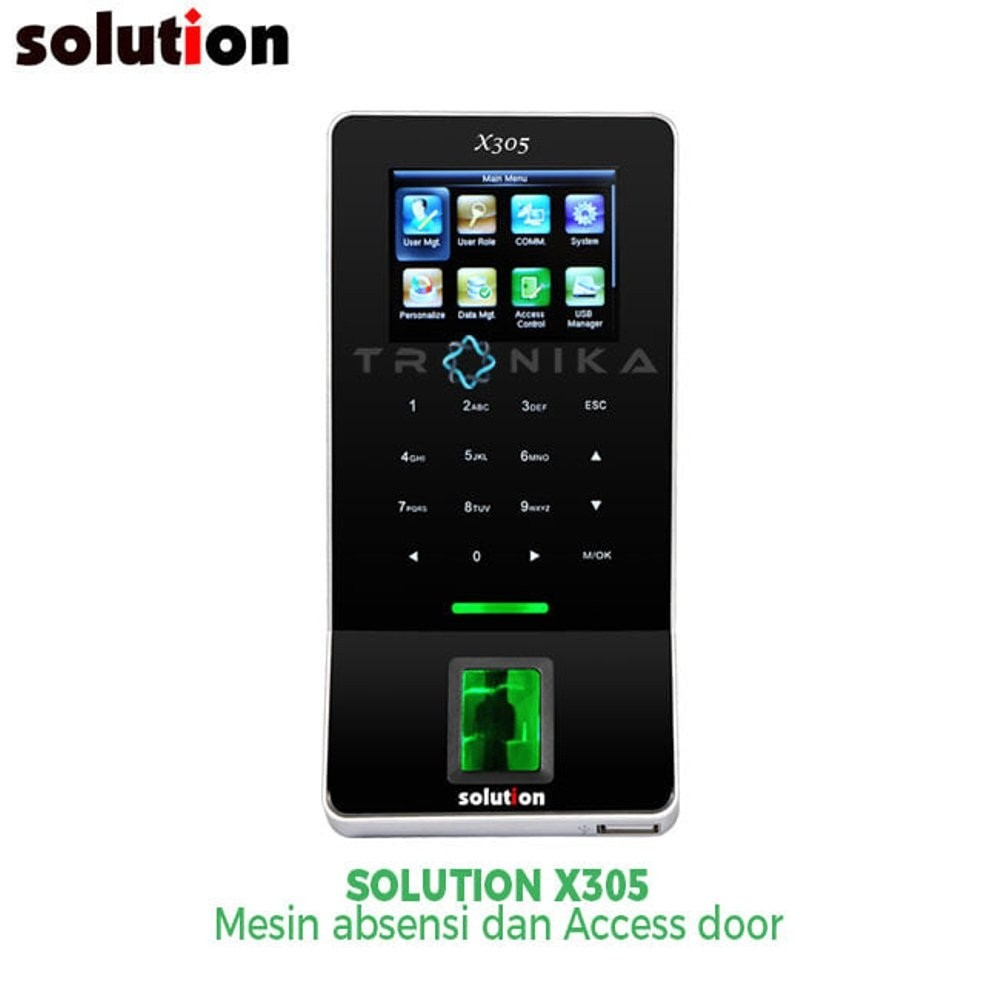 Mesin Absensi & Mesin Access Door Solution X305