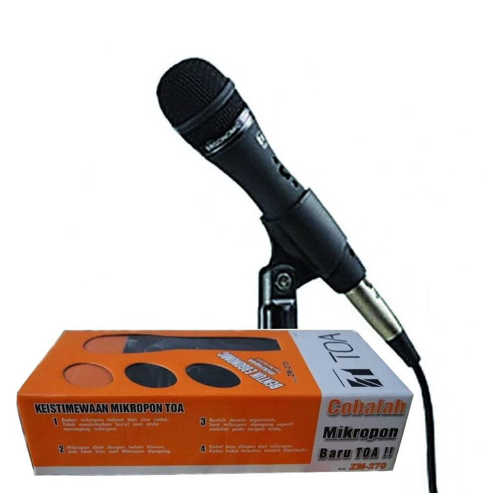 Microphone TOA ZM-270