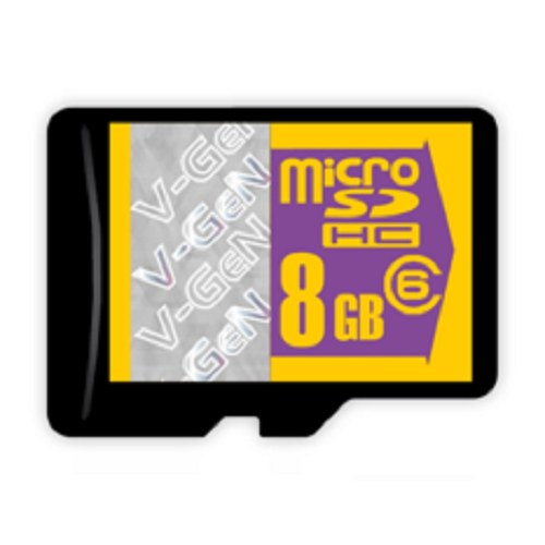Micro SD V-GEN (Non Adapter) 8 GB