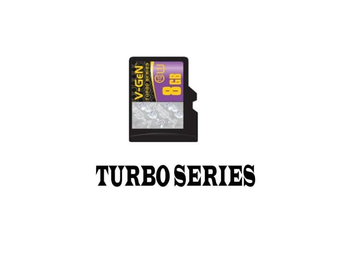 Micro SD Turbo V-GEN (Non Adapter) 8GB