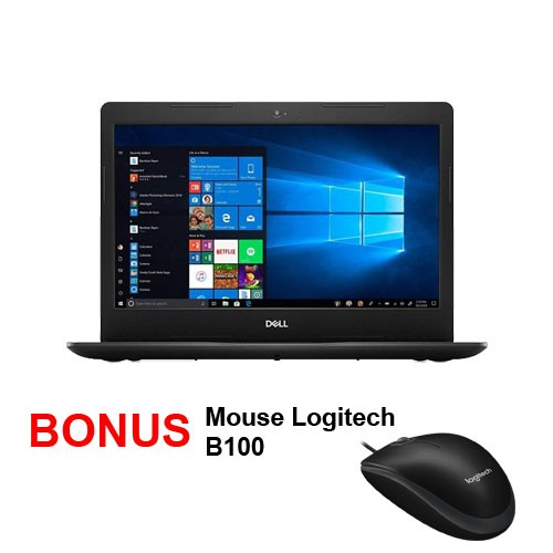 Laptop DELL Inspiron 3493 Black
